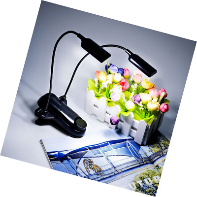Clip On Music Stand Lights Bed Reading Lamps Light for Piano Desk Reader Kids