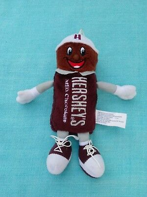 Hersheys Milk Chocolate Candy Bar Plush Stuffed Animal Soft Toy