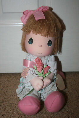 Precious Moments 1990 Mothers Day Edition Girl Doll NWT 14 inches