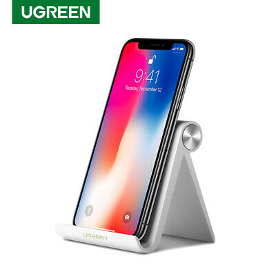 Ugreen Desktop Phone Stand Holder Multi-Angle for iPhone x 8 Samsung S9 S8 iPad