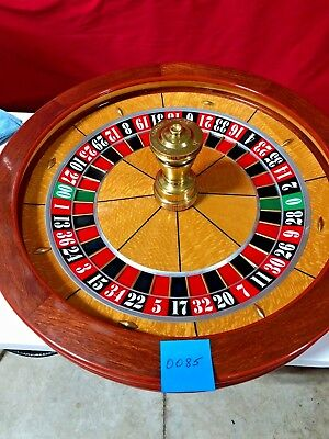 Roulette Wheel 32 Inch Paulson (Used) #0085 Single 0/00