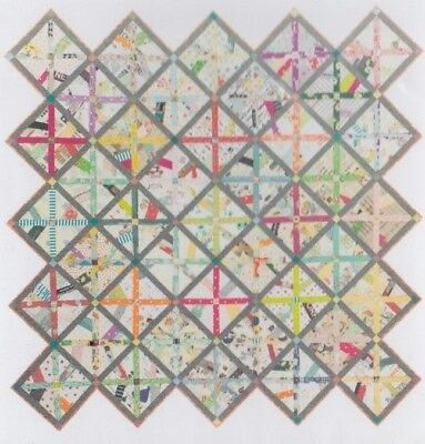 Sew Vintage - modern pieced quilt PATTERN with a vintage feel - Sew Demented