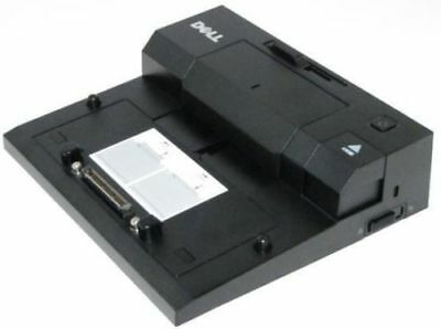DELL PR03X/PRO3X E-Port Docking Station E-Dock Port Replicator Latitude NO AC