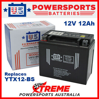 AGM 12V 12AH Battery for Kymco DOWNTOWN 300 2012-2014 YTX12-BS