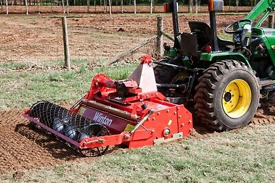 WSB125 - Winton Heavy Duty Stone Burier - 1.25m Wide - For Compact Tractors