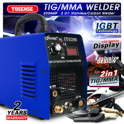 2 in 1 200A TIG/MMA Welder Inverter Welding Stick ARC Weldeing Machine 220V Hot