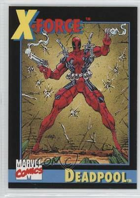 1991 Impel Marvel Universe Series 2 Promo #3 Deadpool Non-Sports Card 0p3
