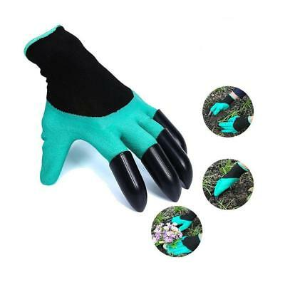 New Waterproof Garden Genie Gloves With Claws Gardening for Digging Planting