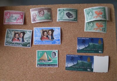Pitcairn Islands 1971 Royal Visit  x 2 unmounted mint + Wedding Anniversary ++