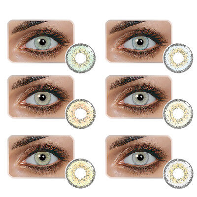 Colored Contacts Lenses Cosmetic Cosplay Party Night Club Eye Circle Lens Mo