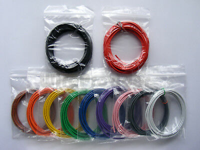 28m 24/0.2mm 18-19 AWG  Equipment Wire 11 Colour - 0.75mm² - 4.5A   -  WP-051418