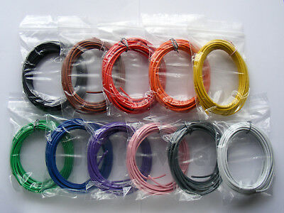 55m 24/0.2mm  Equipment Wire 18-19 AWG 11 Colour- 0.75mm² - 1Kv-4.5A - WP-051618