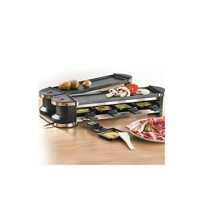 Raclette grill modulable 1200W 8 poêlons