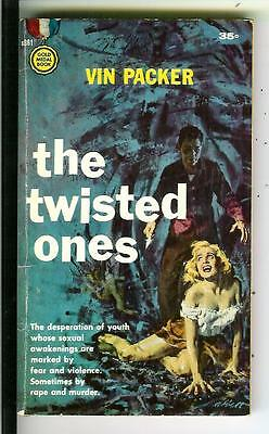 THE TWISTED ONES by Vin Packer, Gold Medal #861 crime gang gga pulp vintage pb