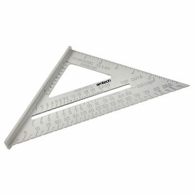"""Am-Tech 6"""" Aluminium Alloy Roofing Rafter Speed Square Triangle Guide Roof"""