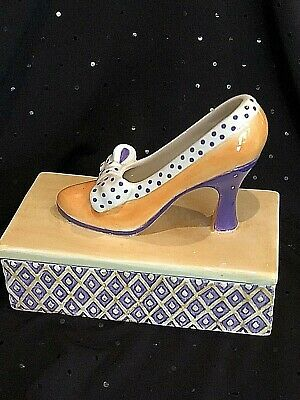 Fitz and Floyd High Heel  Covered Box