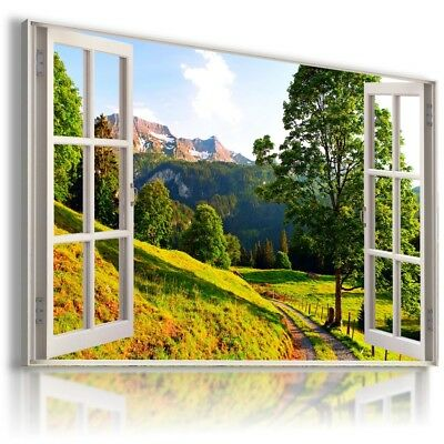 3D  ARIZONA  Window View Canvas Wall Art Picture Large  W322 NO FRAME  MATAGA .