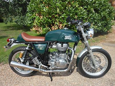 Royal Enfield Continental Gt 535 Naked, 2016, 1,769 Miles, Lovely Condition