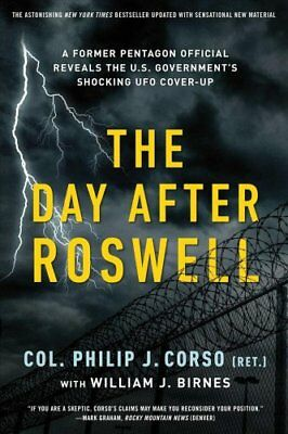 The Day After Roswell by William J Birnes (Paperback, 2017)
