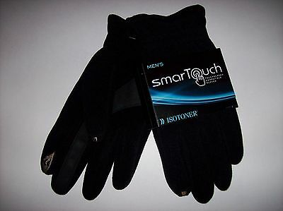 Isotoner Gloves Mens Smartouch Sz Extra Large Touchscreen Compatible NWT