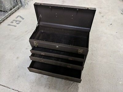 Kennedy Machinist 3-Drawer Toolbox