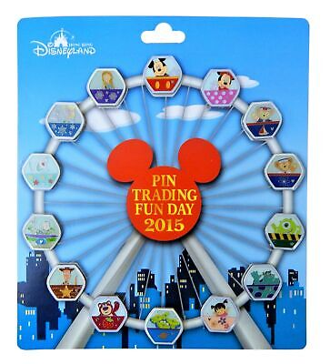 Walt Disney World Park Trading Pin Ferris Wheel Set  - 14 Total Pins - Brand NEW