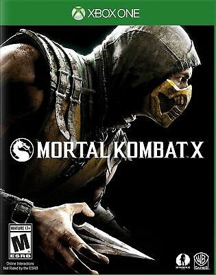 Xbox One Xb1 Video Game Mortal Kombat X Brand New And Sealed