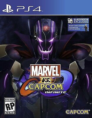 Playstation 4 Ps4 Game Marvel Vs. Capcom Infinite Deluxe Edition New Sealed