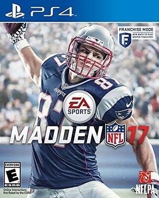 Playstation 4 Ps4 Game Madden Nfl 17 2017 Brand New Sealed