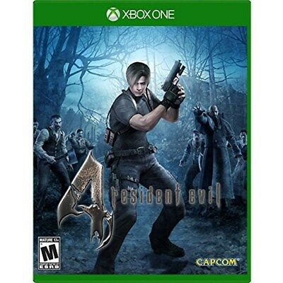 Xbox One Game Resident Evil 4 Hd Brand New And Sealed Xb1