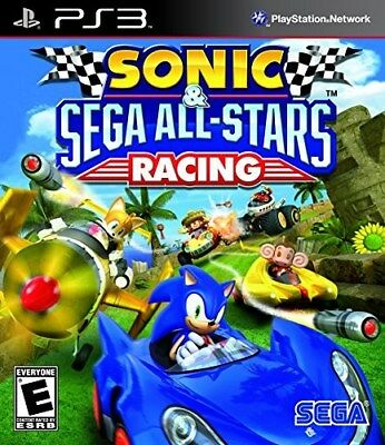 Playstation Ps3 Game Sonic & Sega All-Stars Racing New