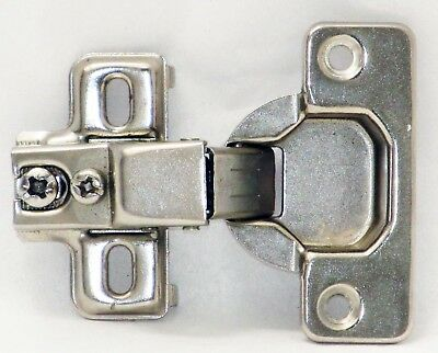 Face Frame Concealed Cabinet Hinges Self Closing 115 Dg Compact Euro 24 Lot Pack