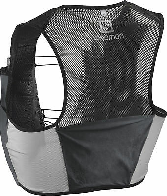 Salomon S-Lab Sense 2 Set Hydration Backpack - Black