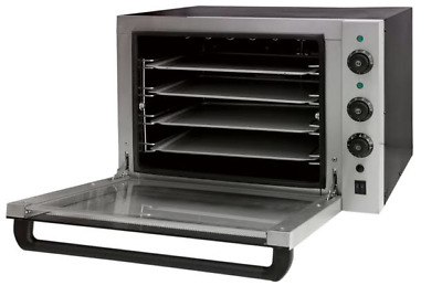 Convection Oven Electric Commercial Baking Stainless Steel 1 Fan 4 Tray