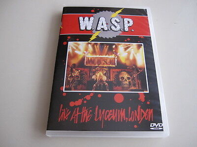 W.A.S.P. - Live At The Lyceum, London 1985 DVD