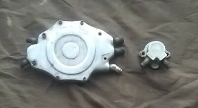 Oldsmobile 455 Boat Motor Aluminum Water Pump and Water Neck Covers