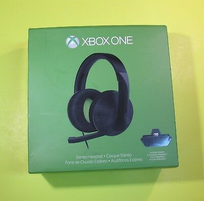 Microsoft Over the Ear Stereo Headsets for Xbox One Model: 1610, 1626