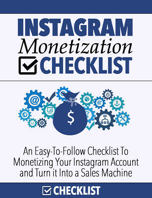 Instagram Monetization Checklist - Monetize Your Instagram Account
