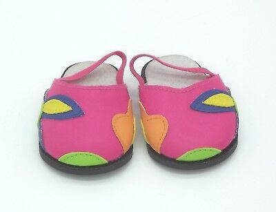 Doll Shoes - Pink Clogs for Baby Born / Baby Alive