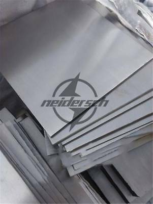 1Pcs 3mm x 100mm x 100mm 304 Stainless Steel Fine Polished Plate Sheet