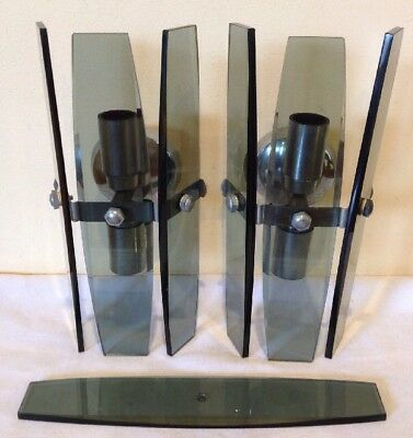 Vintage ART DECO style Wall Lights
