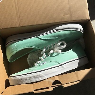 Vans Authentic Lime Green Mens Size 9 Womens 10.5