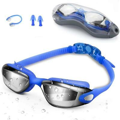 Zerhunt Swim Goggles, Swimming Goggles with UV Protection Anti Fog for Adult Men