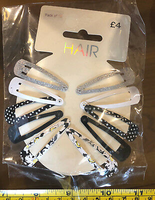 Matalan Papaya New Hair Headband /& Tails Black Cute Sparkle Gem Band RRP £8.50