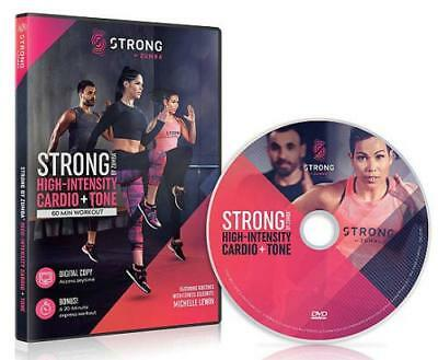 Zumba: Strong By Zumba - High-Intensity Cardio + Tone New Dvd