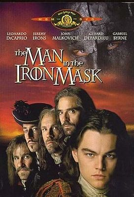 The Man in the Iron Mask (DVD, 2006, Canadian) Brand New Leonardo DiCaprio