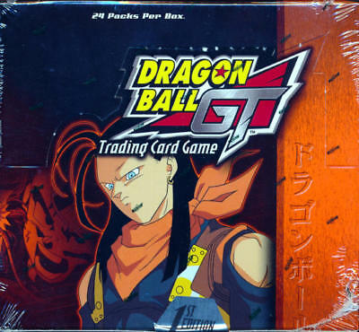 Dragon Ball Z GT Trading Card Game 1st ed Super 17 Saga BOOSTER BOX 24ct SEALED!