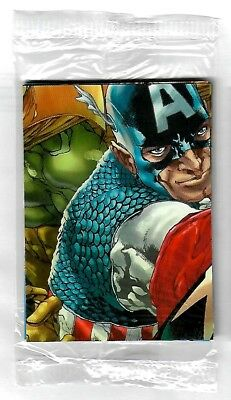 2011 Avengers Kree Skrull War Sealed Promo pack of 10 cards - Upper Deck