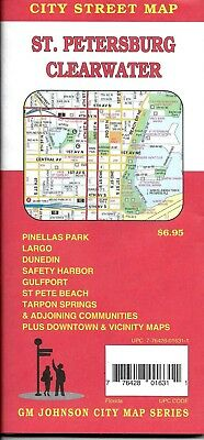 Clearwater Florida Map.City Street Map Of Venice Englewood Florida By Gmj Maps 5 95