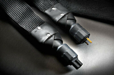 VERASTARR GRAND ILLUSION 2 POWER CABLE with Passive RF/EMI filtering NEW!